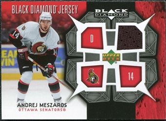 2007/08 Upper Deck Black Diamond Jerseys #BDJAM Andrej Meszaros
