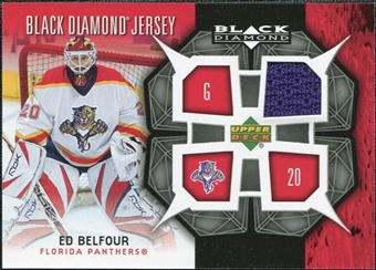 2007/08 Upper Deck Black Diamond Jerseys #BDJEB Ed Belfour