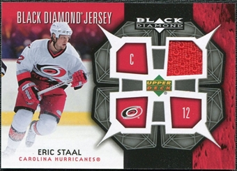 2007/08 Upper Deck Black Diamond Jerseys #BDJES Eric Staal