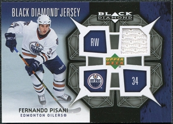2007/08 Upper Deck Black Diamond Jerseys #BDJFP Fernando Pisani