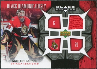 2007/08 Upper Deck Black Diamond Jerseys #BDJGE Martin Gerber