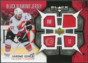 2007/08 Upper Deck Black Diamond Jerseys #BDJJI Jarome Iginla