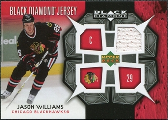 2007/08 Upper Deck Black Diamond Jerseys #BDJJW Jason Williams