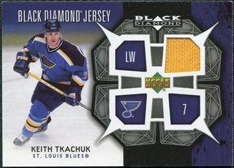 2007/08 Upper Deck Black Diamond Jerseys #BDJKT Keith Tkachuk