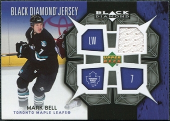 2007/08 Upper Deck Black Diamond Jerseys #BDJMB Mark Bell