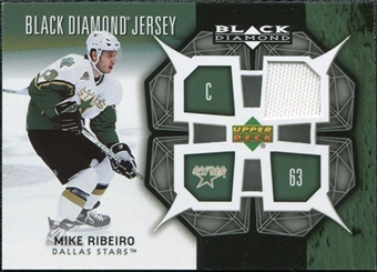 2007/08 Upper Deck Black Diamond Jerseys #BDJMR Mike Ribeiro