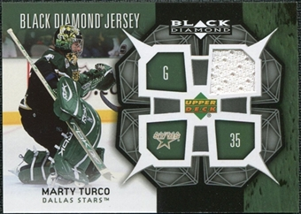 2007/08 Upper Deck Black Diamond Jerseys #BDJMT Marty Turco
