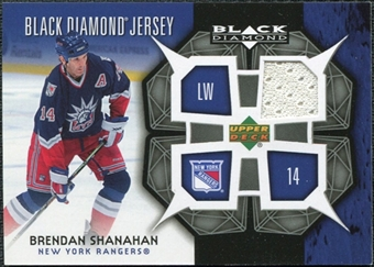 2007/08 Upper Deck Black Diamond Jerseys #BDJSH Brendan Shanahan