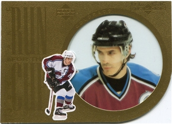 2007/08 Upper Deck Black Diamond Run for the Cup #CUP6 Joe Sakic