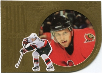 2007/08 Upper Deck Black Diamond Run for the Cup #CUP14 Dany Heatley
