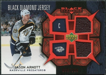 2007/08 Upper Deck Black Diamond Jerseys Ruby Dual #BDJJA Jason Arnott /100