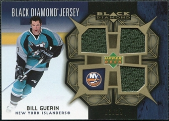 2007/08 Upper Deck Black Diamond Jerseys Gold Triple #BDJBG Bill Guerin /25