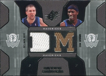 2007/08 Upper Deck SPx Winning Materials Combos #NH Dirk Nowitzki Josh Howard
