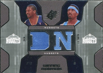 2007/08 Upper Deck SPx Winning Materials Combos #NJ Nene J.R. Smith