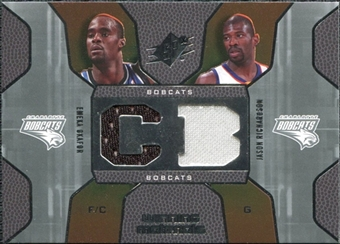 2007/08 Upper Deck SPx Winning Materials Combos #RO Emeka Okafor Jason Richardson