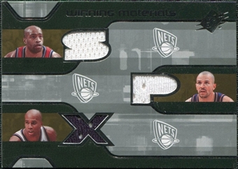 2007/08 Upper Deck SPx Winning Materials Triples #KCJ Vince Carter Jason Kidd Richard Jefferson