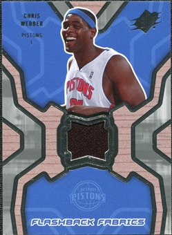 2007/08 Upper Deck SPx Flashback Fabrics #CW Chris Webber