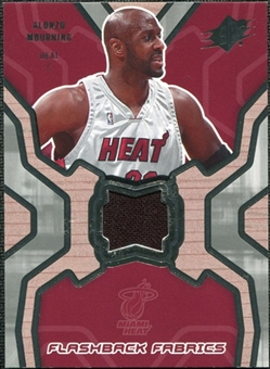 2007/08 Upper Deck SPx Flashback Fabrics #MO Alonzo Mourning