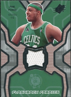 2007/08 Upper Deck SPx Flashback Fabrics #PP Paul Pierce