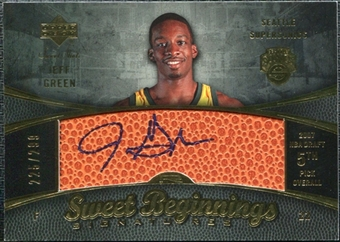 2007/08 Upper Deck Sweet Shot #102 Jeff Green Autograph /299