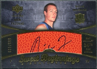 2007/08 Upper Deck Sweet Shot #114 Nick Fazekas RC Autograph /699