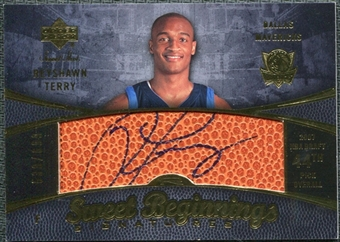 2007/08 Upper Deck Sweet Shot #120 Reyshawn Terry Autograph /699