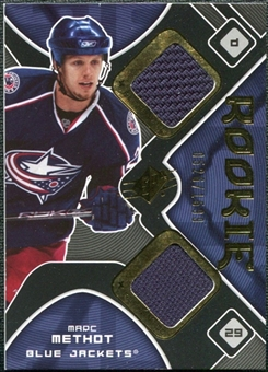 2007/08 Upper Deck SPx #187 Marc Methot RC Jersey /1599