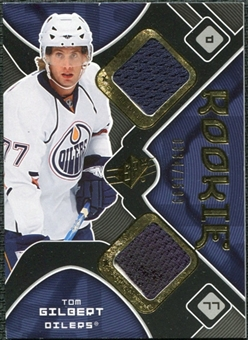 2007/08 Upper Deck SPx #192 Tom Gilbert RC Jersey /1599