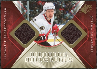 2007/08 Upper Deck SPx Winning Materials #WMDA Daniel Alfredsson