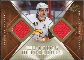 2007/08 Upper Deck SPx Winning Materials #WMDB Daniel Briere