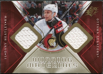 2007/08 Upper Deck SPx Winning Materials #WMDH Dany Heatley