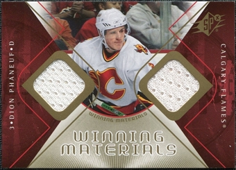 2007/08 Upper Deck SPx Winning Materials #WMDP Dion Phaneuf