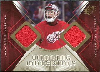 2007/08 Upper Deck SPx Winning Materials #WMHA Dominik Hasek