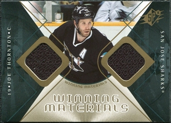 2007/08 Upper Deck SPx Winning Materials #WMJT Joe Thornton