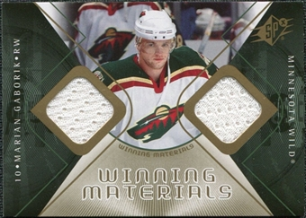 2007/08 Upper Deck SPx Winning Materials #WMMG Marian Gaborik