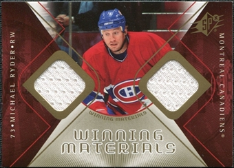 2007/08 Upper Deck SPx Winning Materials #WMMR Michael Ryder