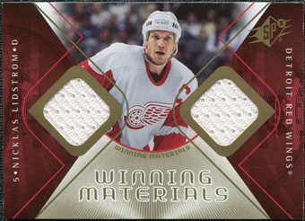 2007/08 Upper Deck SPx Winning Materials #WMNL Nicklas Lidstrom