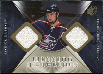 2007/08 Upper Deck SPx Winning Materials #WMRN Rick Nash