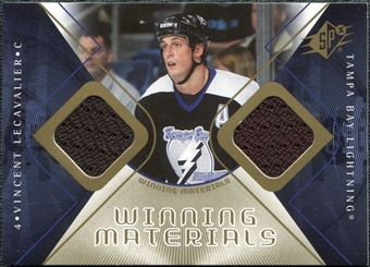 2007/08 Upper Deck SPx Winning Materials #WMVL Vincent Lecavalier