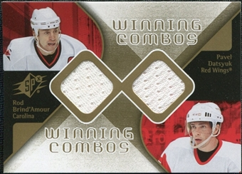 2007/08 Upper Deck SPx Winning Combos #WCDB Pavel Datsyuk/Rod Brind`Amour
