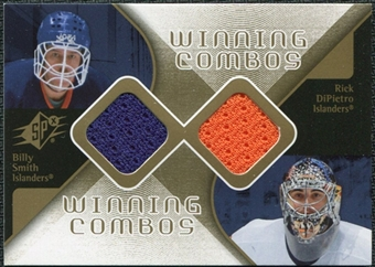 2007/08 Upper Deck SPx Winning Combos #WCDS Rick DiPietro/Billy Smith