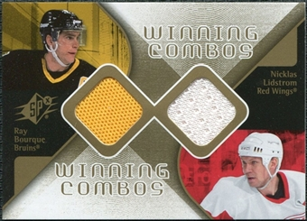 2007/08 Upper Deck SPx Winning Combos #WCLB Nicklas Lidstrom Ray Bourque