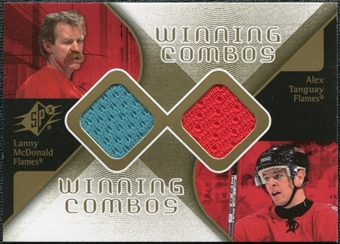 2007/08 Upper Deck SPx Winning Combos #WCMT Lanny McDonald/Alex Tanguay