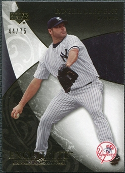2007 Upper Deck Exquisite Collection Rookie Signatures Gold #8 Roger Clemens /75