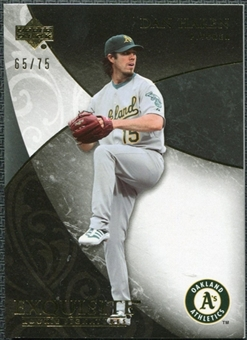 2007 Upper Deck Exquisite Collection Rookie Signatures Gold #93 Dan Haren /75