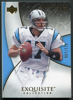 2007 Upper Deck Exquisite Collection #9 Jake Delhomme /150