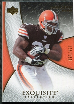 2007 Upper Deck Exquisite Collection #15 Jamal Lewis /150