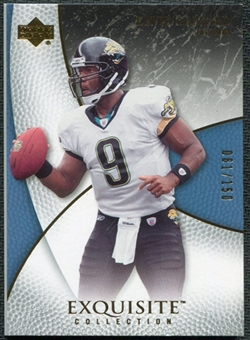 2007 Upper Deck Exquisite Collection #29 David Garrard /150
