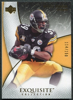 2007 Upper Deck Exquisite Collection #49 Willie Parker /150