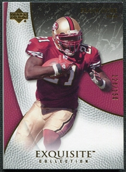 2007 Upper Deck Exquisite Collection #53 Frank Gore /150